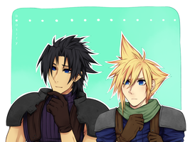 Zack and Cloud by Boosify