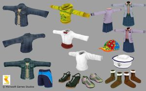 Xbox 360 Avatar Clothing by SusurrusArt