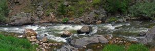 Big Thompson River Panorama by sequential