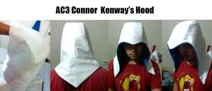 AC3 Connor Kenway's Hood by yulittle