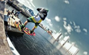 Cable Park Launch by BrknRib