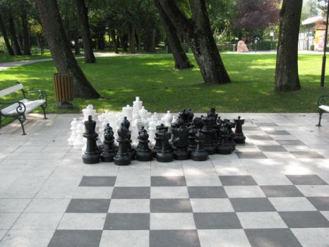Outdoor chess by Shaharp
