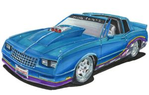 1985 Chevy Monte Carlo SS by festy90