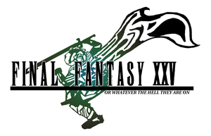 An excessive number of Final Fantasy games by DoppleGangsterStudio