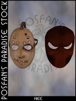 Halloween Masks 002 by poserfan-stock