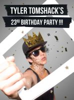 My 23rd Birtday Party poster by felipemsexy