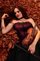 Violin Art by AnarkiARockPhoto