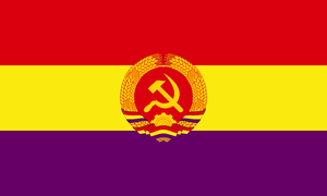 Flag of the Socialist Federation of Spain by veovis523