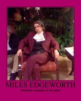 Awesome Cosplayer: Miles Edgeworth by MasterRBG