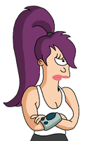 Leela's pissed by JediJesse