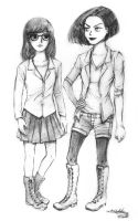 Daria and Jane by Tatmione