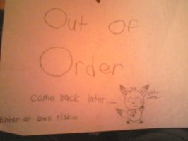 Out Of Order by SlyLightning