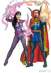 COMMISSION DOCTOR STRANGE AND CLEA by IMPOSI