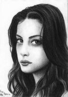 Liv Tyler - Charcoal by Sellren