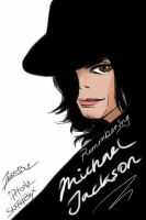 Iphone sketchbkx: MJ by terryrism