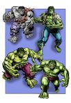 Hulk through the ages - UPDATED by Soulman-Inc