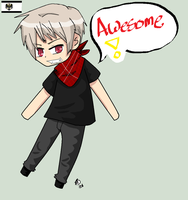 Chibi Prussia by WinterInsanity26