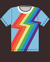 Rainbow Dash T-Shirt by Couch-and-Canvas