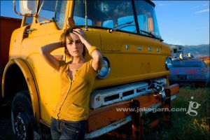 Yellow Ford II by jakegarn