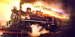 I Like Trains by krazekay