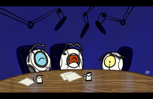 The Aperture Science Show by theEyZmaster