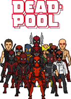 The Deadpool Group by MicroManED