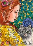 Renaissance - ACEO by MJWilliam