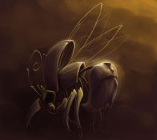 Flying insect by Zoulouluvu