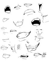 mouths o_O? by Blasian89