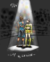 Request: Lin Xion vs Lily by vizaw