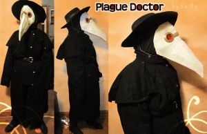 Plague Doctor-chan by Skittycat