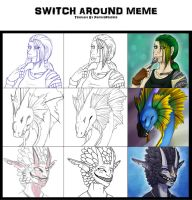 Switch around meme by Surrial