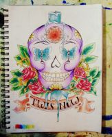 'Twas Now - Tattoo Design by SchemaTree