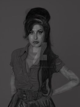 Amy Winehouse, 27 forever by joajacksonmartin