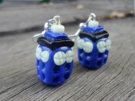 Wibbley -Wobbley Timey-Wimey Earrings by geeekalicious