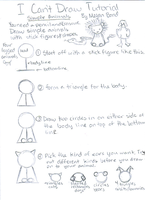 I Can't Draw Tutorial-Animals by Hitori-The-Bitch