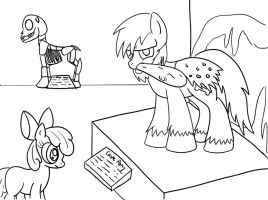 NATG III Day 11: Pony at a Museum by Mortris