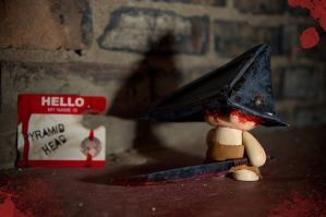 SH Munny: Pyramid Head 1 by Meagan-Marie