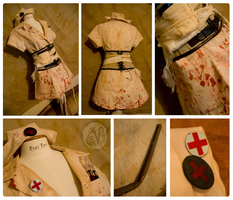 Halloween Costume 2008 - Nurse by Nymla