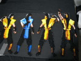 More Mortal Kombat Perler Bead by Buck-Chow-Simmons