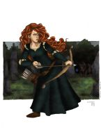 Merida - Brave by LeondiAndElliePamp