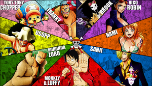 One Piece Mugiwaras wallpaper (full hd 1080p) by Marcos-Inu