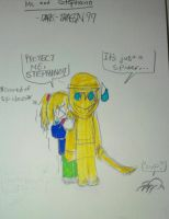I HATE spiders. Featuring Stephano by Dark-dragon99