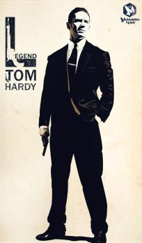 TOM HARDY by m7madlshall