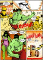 The Incredible Hulk: Red Alert Page 17 by MikeMcelwee