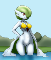 Cute gardevoir by Dark-Moltres