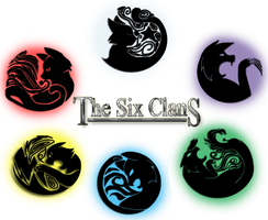 The Six Clans Logo Revamp 2014 by AriaSnow