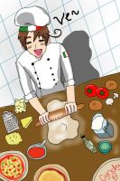 APH: Pizza~ Italy by Cyndyrellah