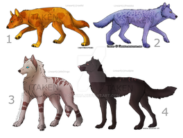 Adoptable Wolves Edition 1 (Closed) by Drzuma