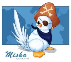 MIsha the White Weewoo by PattyD